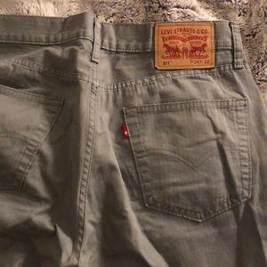 Men's Levi Grey 511 Jeans